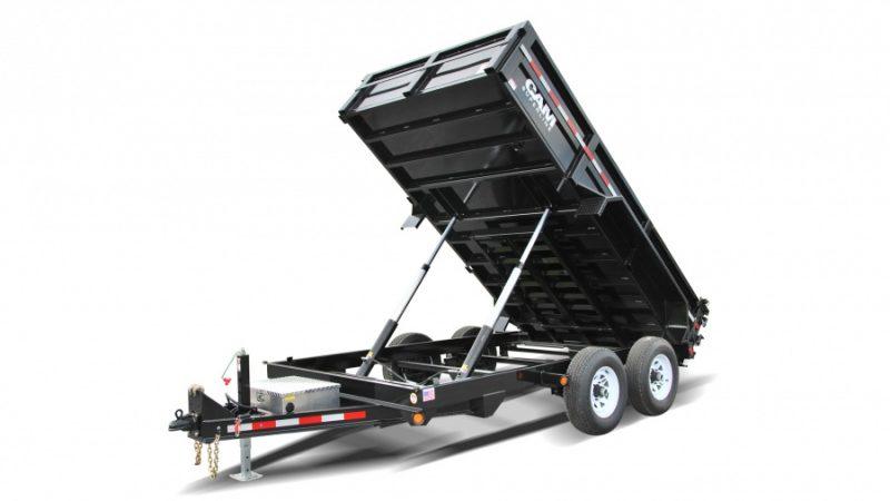 cam superline hd low profile dump burkholder manufacturing Landscape Trailer Racks standard hd dump trailer
