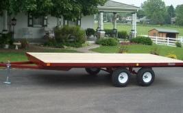 Burkholder 3K Deck Over Trailer
