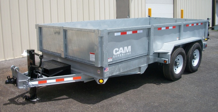 Car Ramps For Sale >> CAM Superline: HD Low Profile Dump | Burkholder Manufacturing
