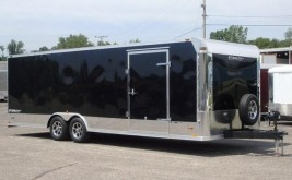 Large Car Hauler Trailer Sold By Burkholder Manufacturing