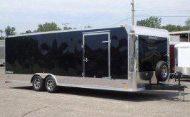 Large Car Hauler Trailer Sold By Burkholder Manufacturing