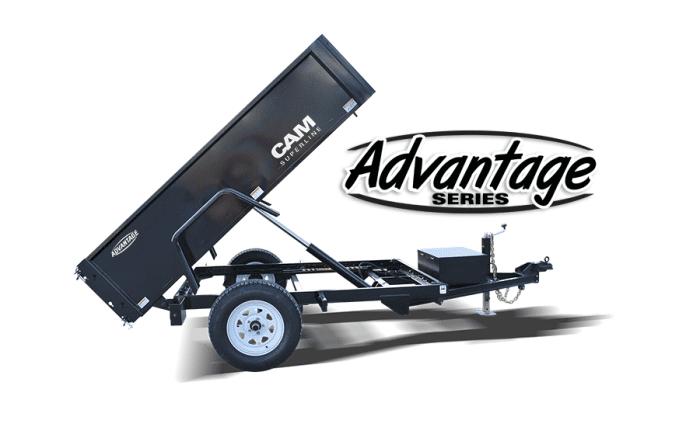 Cam Advantage Dump Trailer