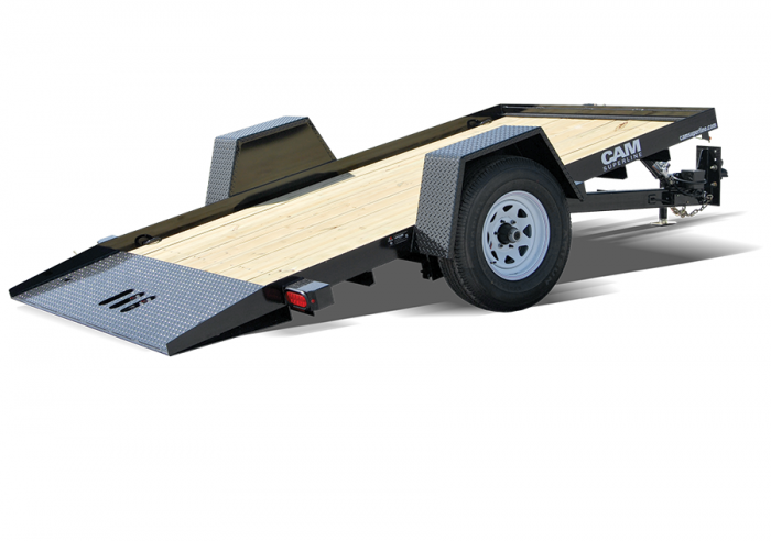 CAM Single Axle Tilt Trailer