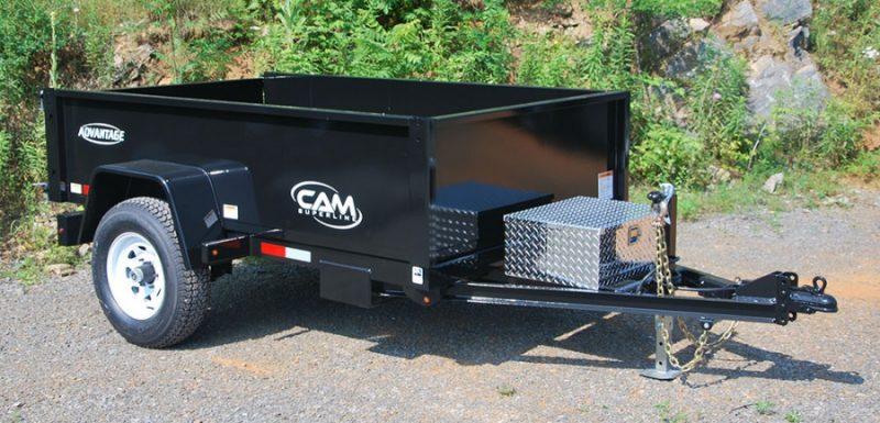 CAM 5X8 Dump Trailer