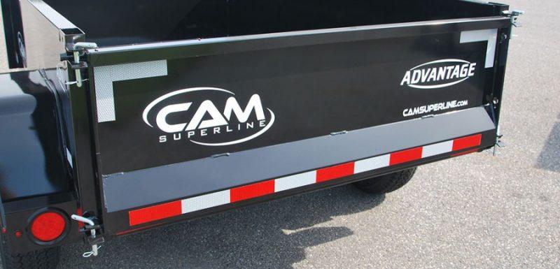 CAM Dump Trailer Tail Gate