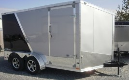 Brand New Enclosed Aluminum Trailer For Sale