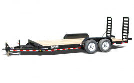 CAM Channel Frame Equipment Trailer