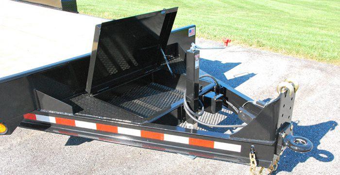 Channel Frame Equipment Trailer Burkholder Manufacturing
