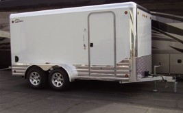 Deluxe Enclosed Trailer Sold In PA