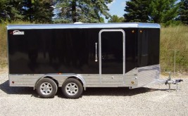 New Enclosed Aluminum Trailer Sold in PA