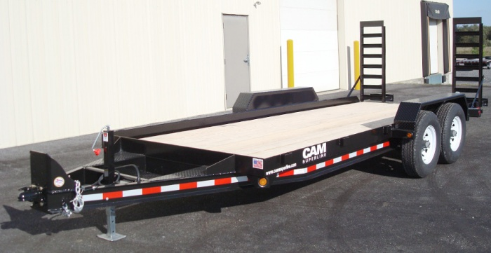 CAM Angle Frame Equipment Hauler