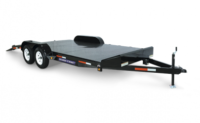 Sure Trac Steel Deck Car hauler