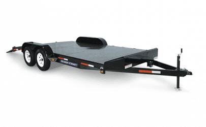 Sure Trac Steel Deck Car hauler
