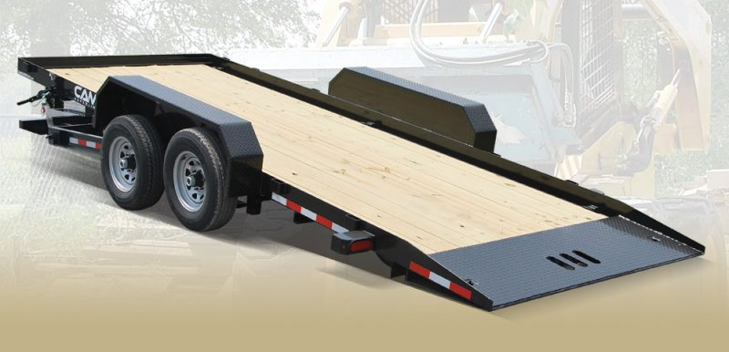 Tilt Trailer  U2013 Full Deck