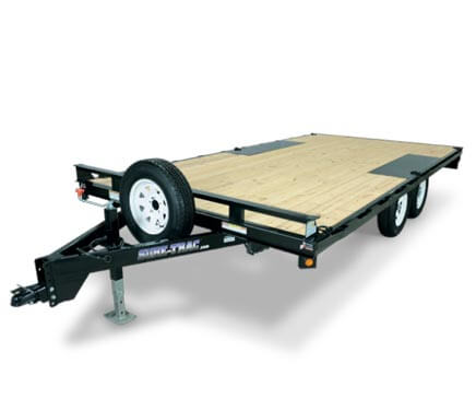 Deckover trailers